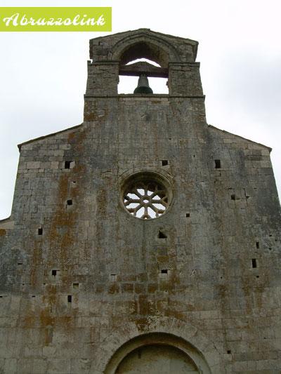 Santa Maria di Cartignano - main facade