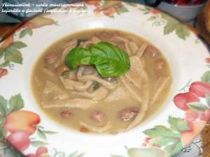Tajarille e Faciuòl - pronto in tavola!