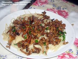 Traghetti ai funghi chiodini