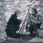 La strada - Rocca di Mezzo - Giulietta Masina (Gelsomina) - Anthony Quinn (Zampano')