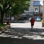 La strada - Rocca di Mezzo - vista attuale