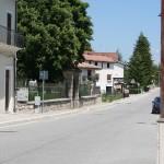 La strada - Rocca di Mezzo - Scena tagliata - vista attuale