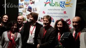 Il Ministro Franceschini e il team #besocialabruzzo