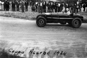 Coppa Acerbo 1934 - Tazio Nuvolari