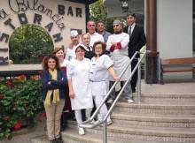 Lo staff del ristorante La Bilancia