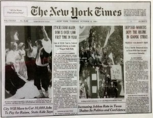 Orsogna MAS - NYT 1982 - Columbus Parade
