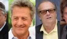Dustin Hoffman, Robert DeNiro, Jack Nicholson e Al Pacino