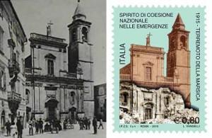 Terremoto nella Marsica 1915-2015 - francobollo commemorativo