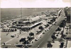 Pescara 1959 - viale Riviera
