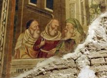 Santa Maria in Piano - Loreto Aprutino - giudizio universale - Torre del Paradiso - i tre patriarchi
