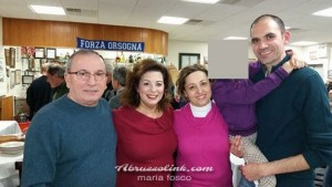 Sante Auriti, Maria Fosco & the family of Iaia, Orsogna MAS, Festa della Porchetta