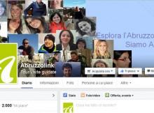 Facebook: 2000 likes