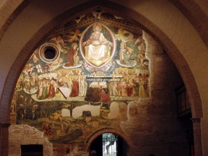 Loreto Aprutino - Santa Maria in Piano - Giudizio universale