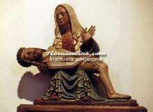 Santa Maria della Pietà - Statua lignea della Pietà