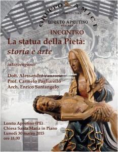 Loreto Aprutino - La Statua della Pietà Storia ed Arte