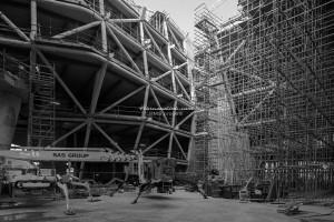 EXPO 2015 Palazzo Italia - foto di cantiere