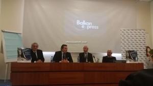 da sinistra: Emidio Isidoro,  Igor Asciutto,  Nicola Mattoscio