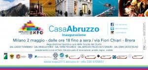 Invito inaugurazione Casa Abruzzo