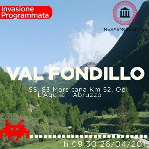 #OpinvasioneValFondillo