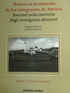 maria d'alessandro - racconti nella memoria degli immigranti abruzzesi