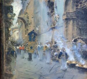 F. P. Michetti: il Venerdi Santo a Chieti