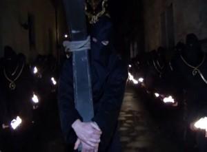 Venerdi santo - Lanciano - processione degli incappucciati - Il Cireneo