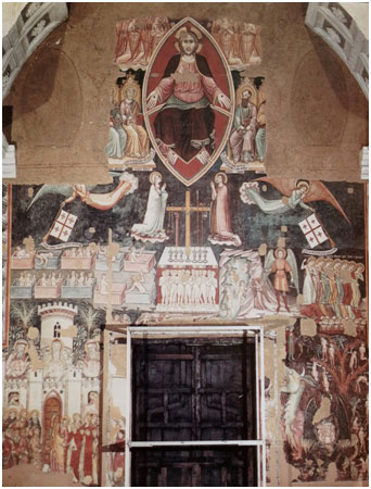 Fresco in de S. Annunziata in S. Agata dei Goti