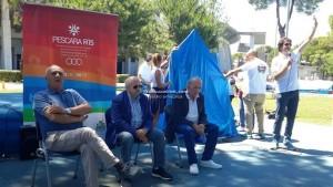 Giochi del mediterraneo in spiagga- pescara 2015