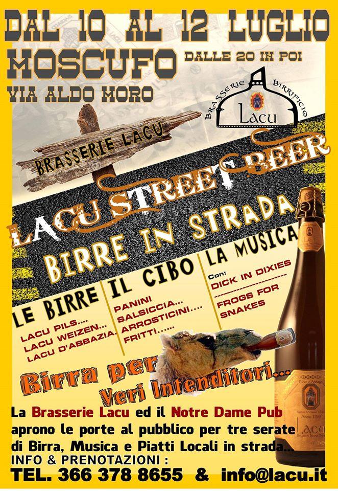 moscufo birre in strada
