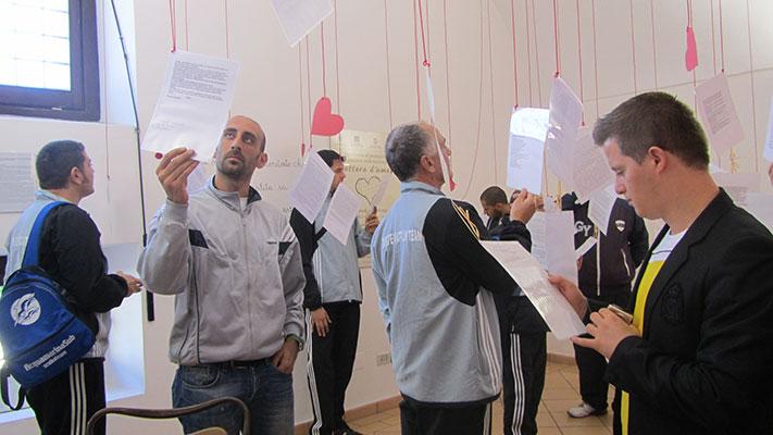 Museo della lettera d'amore: interno