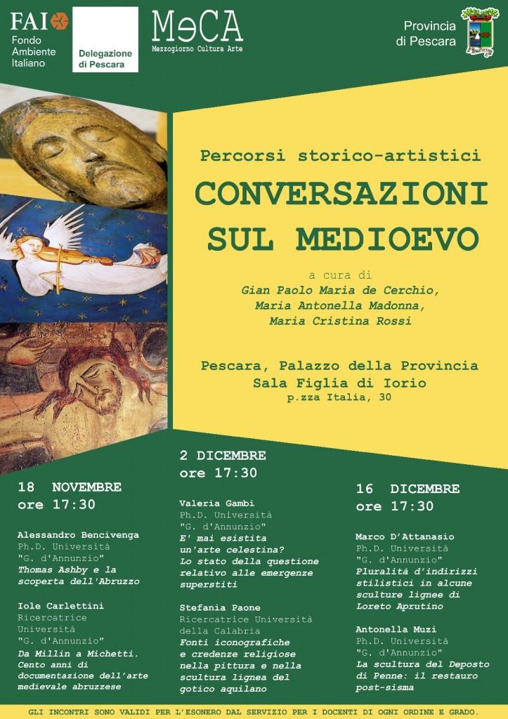 Percorsi storico artistici - Conversazioni sul Medioevo