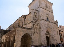 Santa Maria Maggiore, Facciata, Guardiagrele